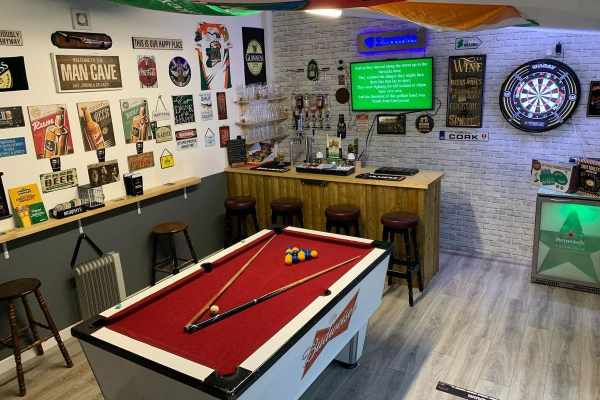 Put Into a Man Cave