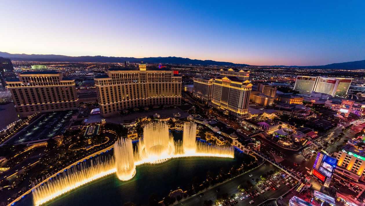enjoy at Vegas hotels