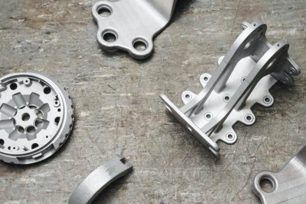 metal 3D printing work