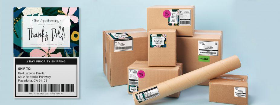 4 x popular printable packaging materials