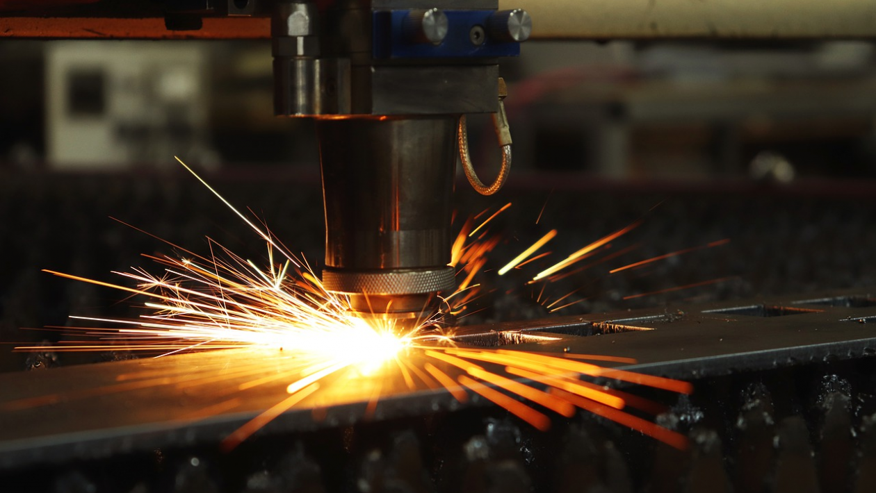 laser cutting for a sheet metal fabrication project