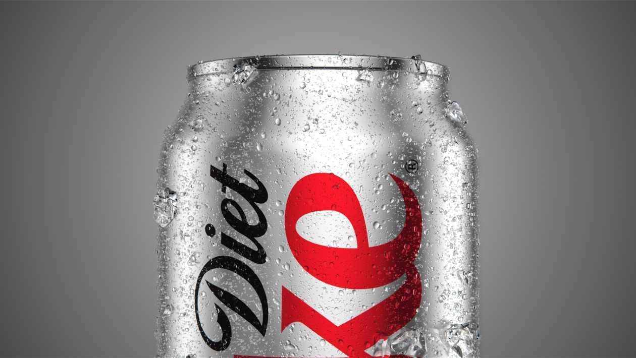 caffeine in diet coke