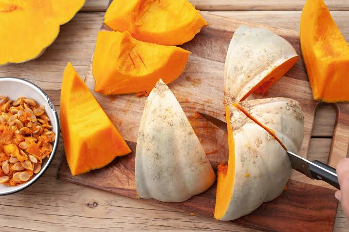 Pumpkin is included in the list of the lowest calorie vegetables